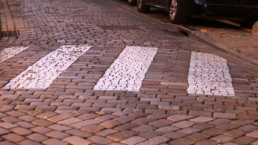 Смена дорожного покрытия