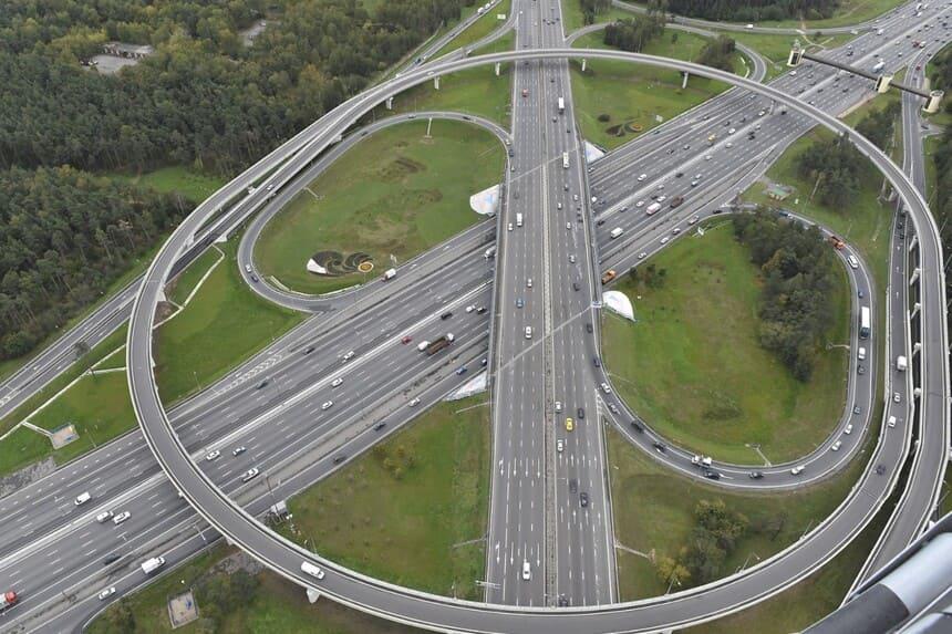 Совершенствование схемы строительства магистралей