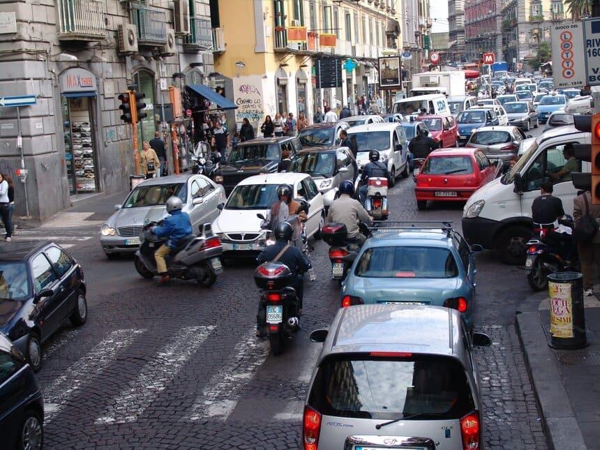 Ограничения на въезд в исторический центр Рима