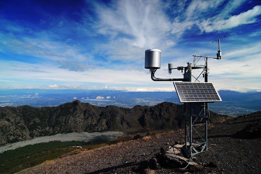 Оборудование системы метеомониторинга