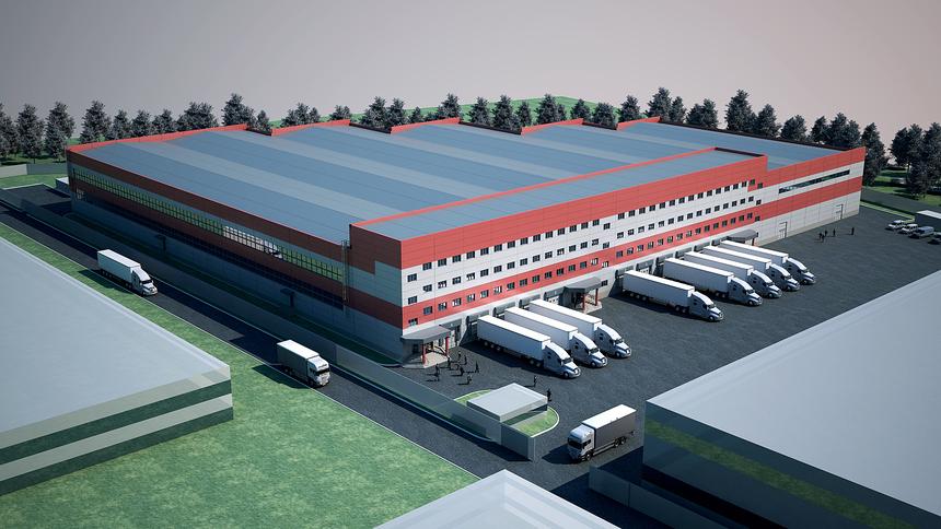 Построение транспортно-логистических центров
