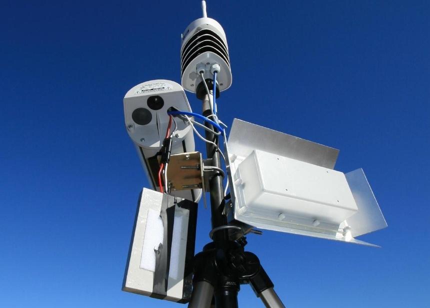 Данные, собираемые метеорологическим оборудованием