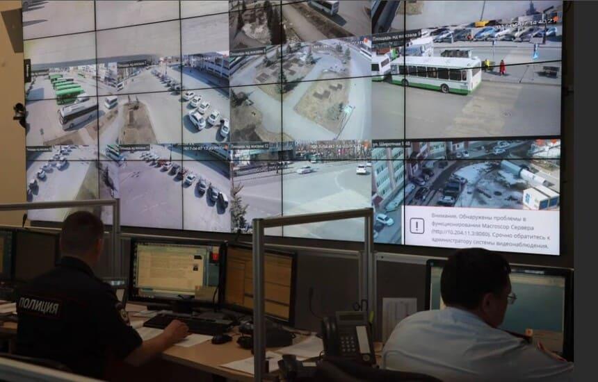 Принцип работы аппаратно-программного комплекса «Безопасный город»