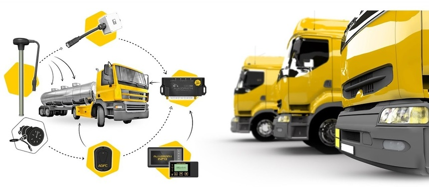 Оборудование системы мониторинга транспорта